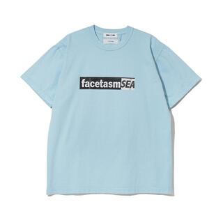 ファセッタズム(FACETASM)のFACETASM × WIND AND SEA TEE ブルー(Tシャツ/カットソー(半袖/袖なし))