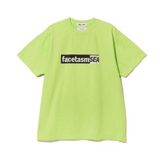 ファセッタズム(FACETASM)のFACETASM × WIND AND SEA TEE グリーン(Tシャツ/カットソー(半袖/袖なし))