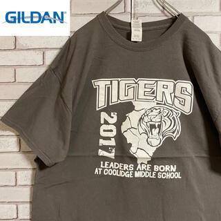 GILDAN - 90s 古着 ギルダン Tシャツ プリント ビッグシルエット ゆるだぼ