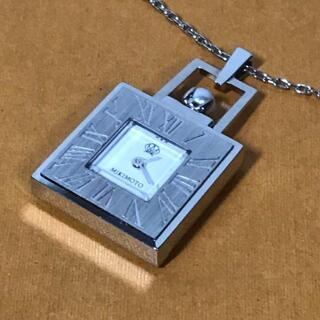 ミキモト(MIKIMOTO)のMIKIMOTO ミキモト ネックレス ペンダント 時計 JAL パール(腕時計)