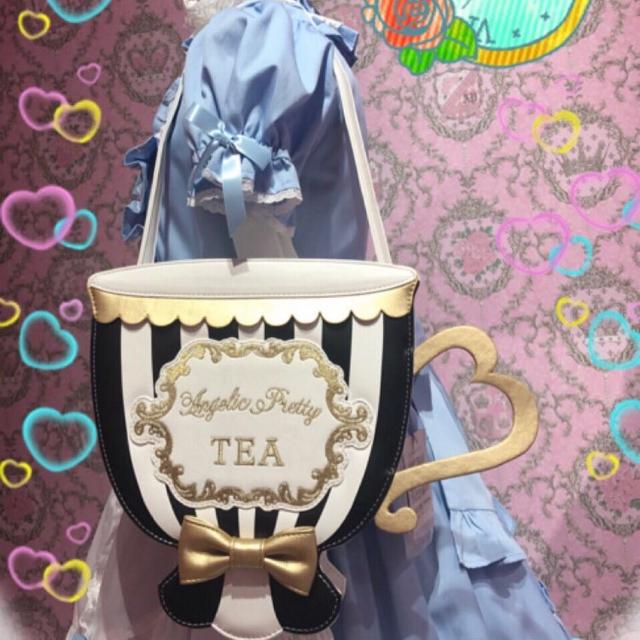 Angelic Pretty(アンジェリックプリティー)のAngelic Pretty Tea time バッグ jsk リング ソックス レディースのバッグ(ショルダーバッグ)の商品写真