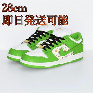 シュプリーム(Supreme)のSupreme Nike SB Dunk Low 緑 28.0cm(スニーカー)