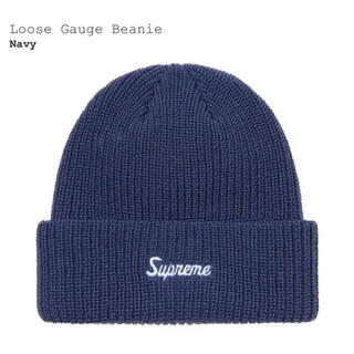 Supreme - Supreme Loose Beanie ネイビー