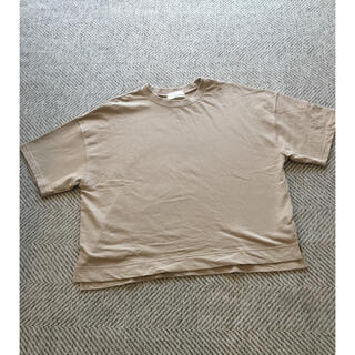 グリーンレーベルリラクシング(green label relaxing)のグリーンレーベルリラクシング オーバーサイズTシャツベージュ(Tシャツ(半袖/袖なし))