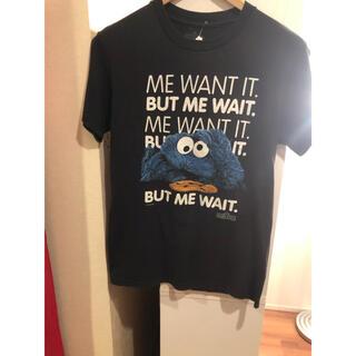 セサミストリート(SESAME STREET)の古着屋購入キャラTシャツセサミストリートクッキーモンスターSレディースでも◎(Tシャツ/カットソー(半袖/袖なし))