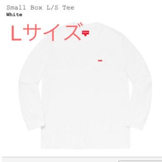 シュプリーム(Supreme)のsizeL supreme small BOX LOGO L/S (Tシャツ/カットソー(七分/長袖))