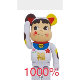 メディコムトイ(MEDICOM TOY)の★専用 BE@RBRICK 招き猫 ペコちゃん 福 1000% 新品未使用★(その他)