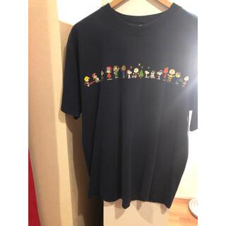 ピーナッツ(PEANUTS)の古着屋購入キャラTシャツスヌーピーPEANUTSLレディースでも◎(Tシャツ/カットソー(半袖/袖なし))