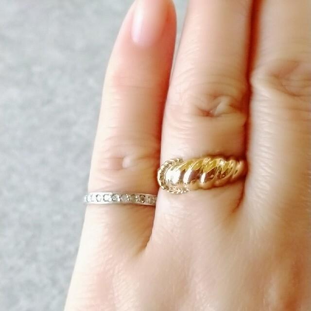 ジュエリーマキ(ジュエリーマキ)のジュエリーマキ・K9リング【#11〜#12】 レディースのアクセサリー(リング(指輪))の商品写真