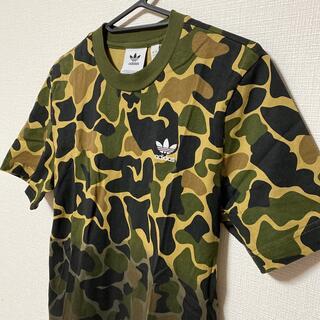 アディダス(adidas)のadidas アディダス Tシャツ 迷彩グラデーション Sサイズ(Tシャツ/カットソー(半袖/袖なし))