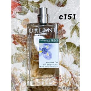 オルラーヌ(ORLANE)のC151 レ フルール ド オルラーヌ アイリス 50ml(香水(女性用))