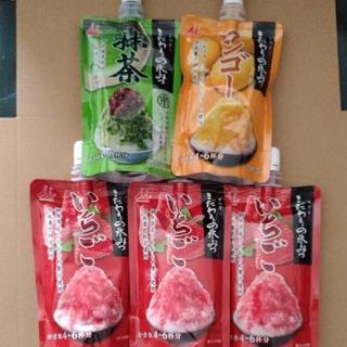 イムラヤ(井村屋)の井村屋  こだわりの氷みつ      5袋 かき氷 シロップ(菓子/デザート)