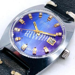 オリス(ORIS)の激レア★ORIS★オリス★パープル★メンズ腕時計★機械式手巻き★ビンテージ(腕時計(アナログ))
