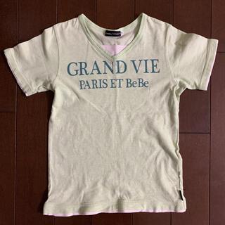 ベベ(BeBe)のBEBE ベベ Tシャツ 半袖 130(Tシャツ/カットソー)