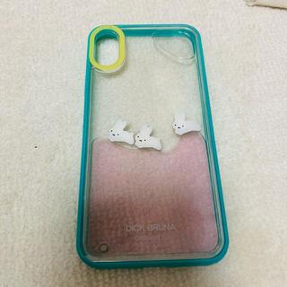メリージェニー(merry jenny)のmerry jenny ミッフィー iPhoneX ケース(iPhoneケース)