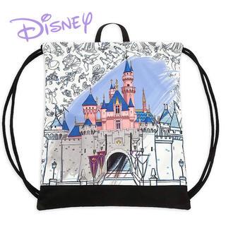 ディズニー(Disney)の激レア カリフォルニア限定 ナップサック(バッグパック/リュック)