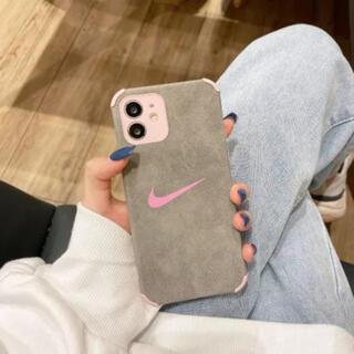 ナイキ(NIKE)のiPhone11ケース NIKE ピンク(iPhoneケース)
