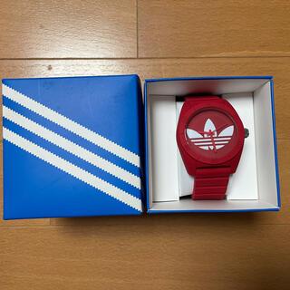 アディダス(adidas)のadidas、アディダス、腕時計、赤(腕時計(アナログ))
