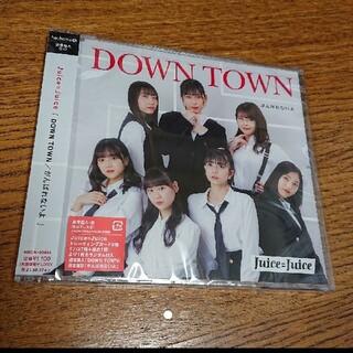 モーニングムスメ(モーニング娘。)のJuice=Juice cd DOWN TOWN/がんばれないよ 通常盤A(アイドルグッズ)