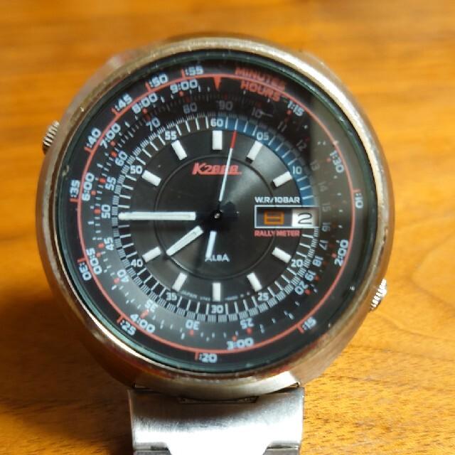 ALBA(アルバ)のALBA K2000 ラリーメーター v743-6a30  メンズの時計(腕時計(アナログ))の商品写真