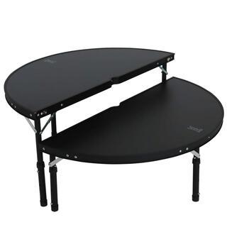 ドッペルギャンガー(DOPPELGANGER)のDOD ワンポールテントテーブル ブラック(テーブル/チェア)