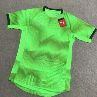 プーマ(PUMA)のプーマTシャツ グリーン❣️値下げ❣️(シャツ)
