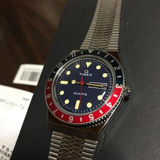 タイメックス(TIMEX)のtimex q  ペプシカラー(腕時計(デジタル))