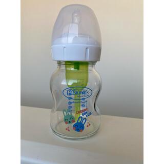 ドクターブラウン dr.browns哺乳瓶ガラス製(哺乳ビン)