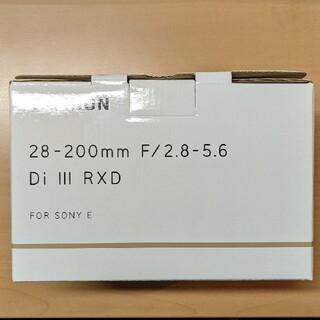 TAMRON - タムロン 28-200mm F2.8-5.6 SONY Eマウント 新品未使用