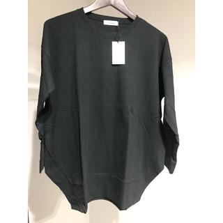 アンティローザ(Auntie Rosa)の新品未使用タグ付きアンティローザ サイドスリットオーバーT(Tシャツ(長袖/七分))