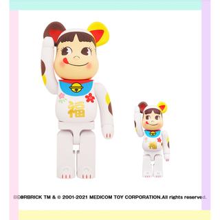 メディコムトイ(MEDICOM TOY)のBE@RBRICK 招き猫 ペコちゃん 福 100% & 400%(その他)