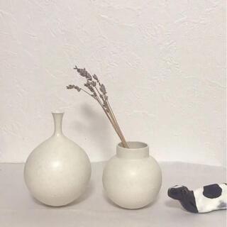 和田麻美子 花器 2点 白(花瓶)