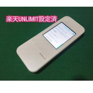 HUAWEI - 【楽天UN-LIMIT設定済】Speed Wi-Fi NEXT W04 UQ版