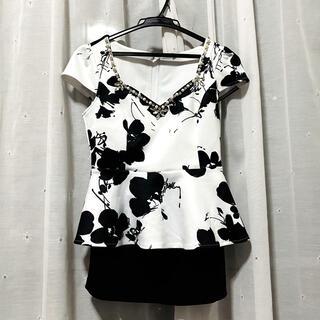 デイジーストア(dazzy store)のキャバドレス ドレス セットアップ Mサイズ(ミニドレス)