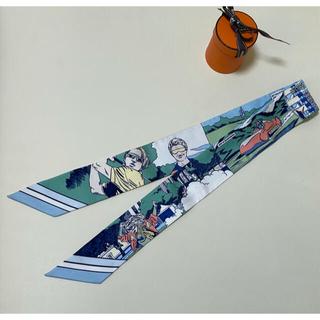 エルメス(Hermes)のエルメス ツイリー wow アメコミ 2021ss(バンダナ/スカーフ)