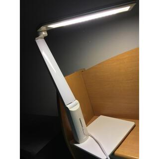 ツインバード(TWINBIRD)の電気スタンド 折りたたみ 明るさ調整可(暗室関連用品)
