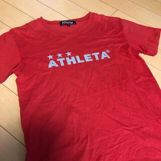 アスレタ(ATHLETA)のATHLETA アスレタ Tシャツ 赤(ウェア)