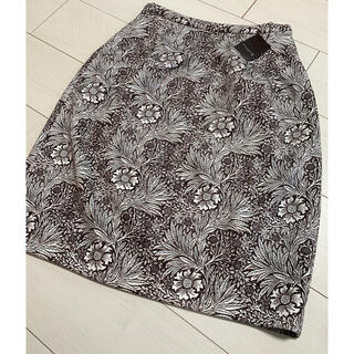 マッキントッシュ(MACKINTOSH)の新品 タグ付き マッキントッシュ スカート M 花柄(ひざ丈スカート)