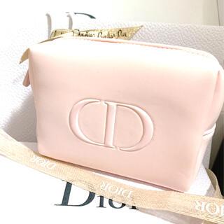 ディオール(Dior)のディオール ノベルティ ふわふわ ピンクポーチ 箱無し(ポーチ)