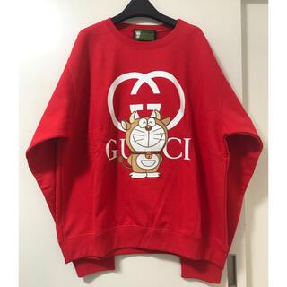 Gucci - サイズL 激レア グッチ x ドラえもん スウェットシャツ ウシエモン 新品本物