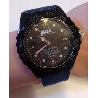 値下 BACKS 10周年 時計 箱無し(腕時計(アナログ))