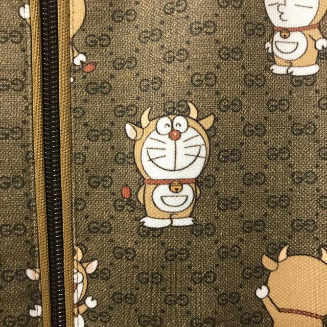 Gucci(グッチ)の激レア サイズL グッチ x ドラえもん テクニカルジャージー ウシエモン 本物 メンズのトップス(ジャージ)の商品写真