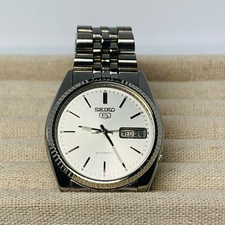 セイコー(SEIKO)のセイコー ファイブ シルバー デイデイト 自動巻(腕時計(アナログ))