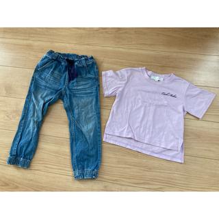 セシルマクビー(CECIL McBEE)のCECIL McBEE セシルマクビー 100 半袖 Tシャツ パンツ kids(Tシャツ/カットソー)