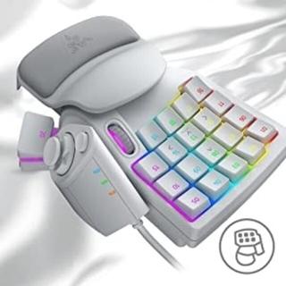 レイザー(LAZER)のRAZER Tartarus Pro Mercury White 左手デバイス(PC周辺機器)