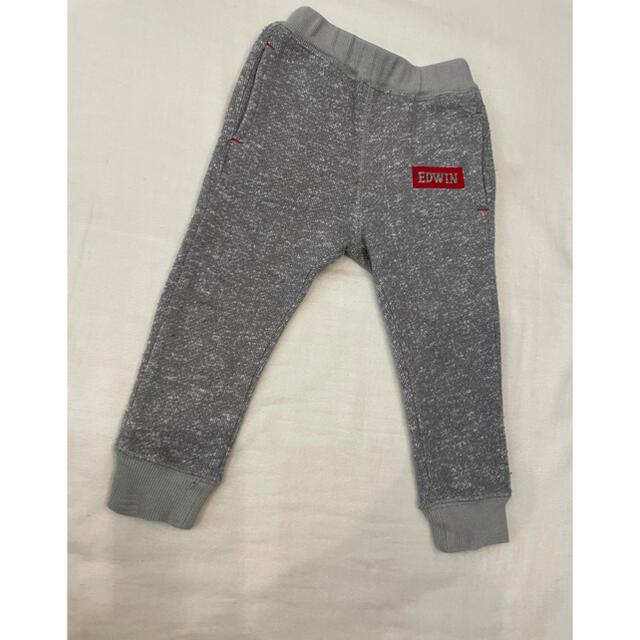 EDWIN(エドウィン)のEDWIN スエットズボン キッズ/ベビー/マタニティのベビー服(~85cm)(パンツ)の商品写真