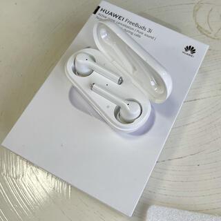 ファーウェイ(HUAWEI)のHUAWEI FreeBuds 3i ワイヤレスイヤホン ホワイト 美品(ヘッドフォン/イヤフォン)