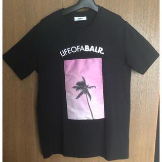 エフシーアールビー(F.C.R.B.)のBALR Tシャツ 黒Mサイズ(Tシャツ/カットソー(半袖/袖なし))