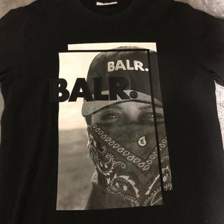 エフシーアールビー(F.C.R.B.)のBALR Tシャツ 黒Lサイズ  ボーラー(Tシャツ/カットソー(半袖/袖なし))
