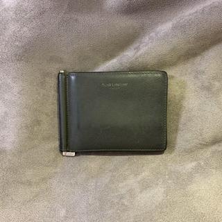 サンローラン(Saint Laurent)のサンローラン マネークリップ 二つ折り財布(マネークリップ)